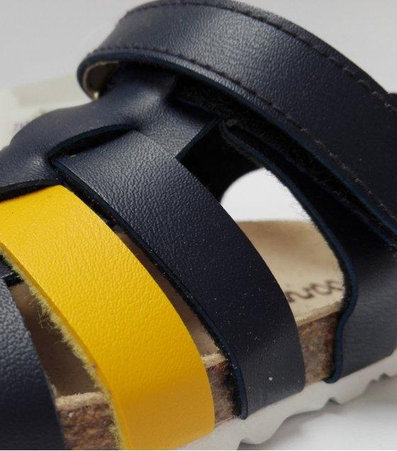 725004589 Sandalia casual BIO para niños con cierre de velcro - Calzados Barry s