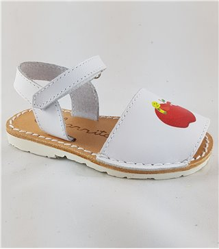 Menorquina blanca manzana
