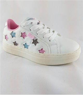 Deportivo niñas color blanco con cordones 57051