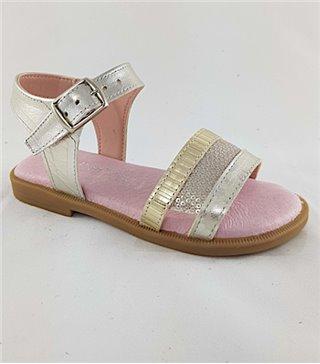 Sandalia para niñas modelo F100esbelta lava