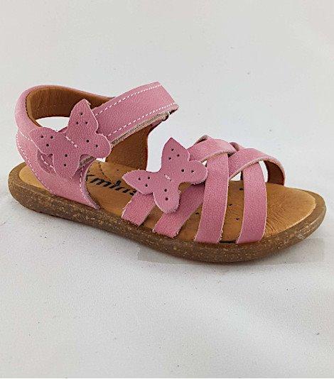 Sandalia para niñas modelo 4558 coral