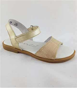 Sandalia para niñas modelo 4239 oro