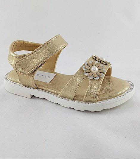 Sandalia para niñas modelo 56665 oro