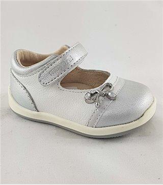 Primeros pasos niña modelo 41124 color plata