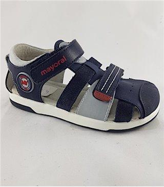 Sandalia para niños modelo 43215 marino