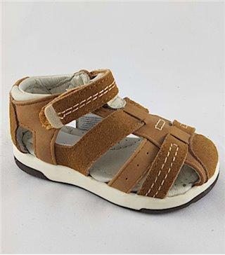Sandalia para niños modelo 41074 camel