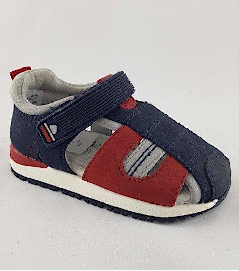 Sandalia para niños modelo 43217 rojo