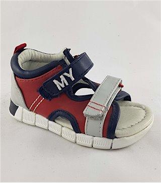 Sandalia para niños modelo 41906 rojo