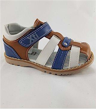 Sandalia para niños modelo 56808-camel