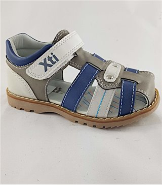 Sandalia para niños modelo 56808-gris