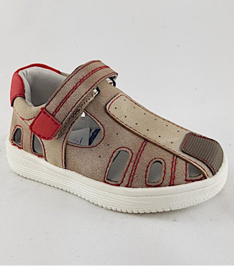 Sandalia para niños modelo 15885-taupe