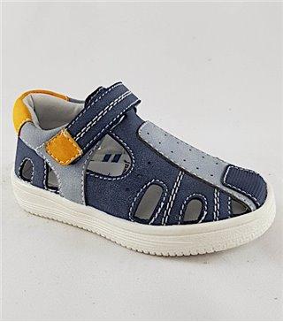 Sandalia para niños modelo 15885-marino