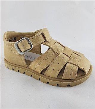 Sandalia para niños modelo 3260-ibory