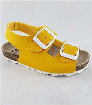 Sandalia para niños modelo de bio-4306-amarillo