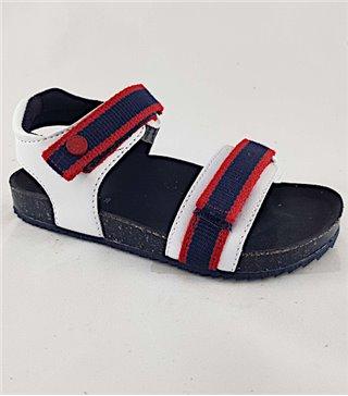 Sandalia para niños modelo 43227-blanco