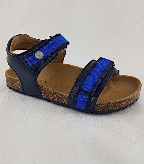 Sandalia para niños modelo 43227-marino