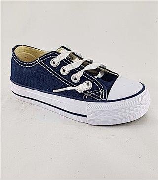 Zapatillas lona cordones ACO 105-16 DK BLUE