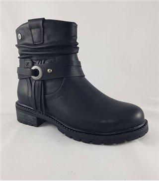 Bota niña cadete-57361-negro
