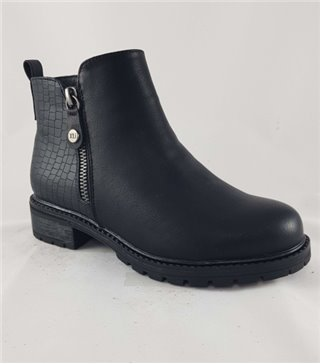Bota niña cadete-57263-negro