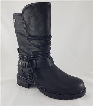 Bota niña cadete-57399-negro