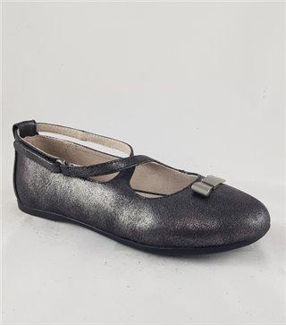 Zapato de piel niña-46117-negro