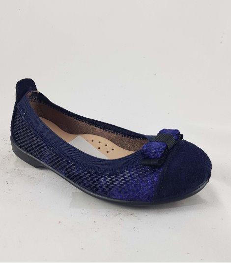Zapato de piel niña-V-60512-marino