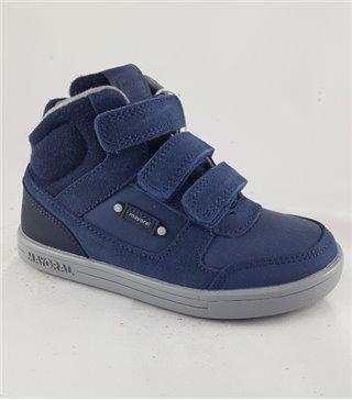 Bota niño velcro modelo-44183-azul