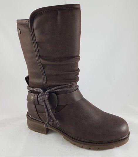 Bota niña cadete-57399-marrón