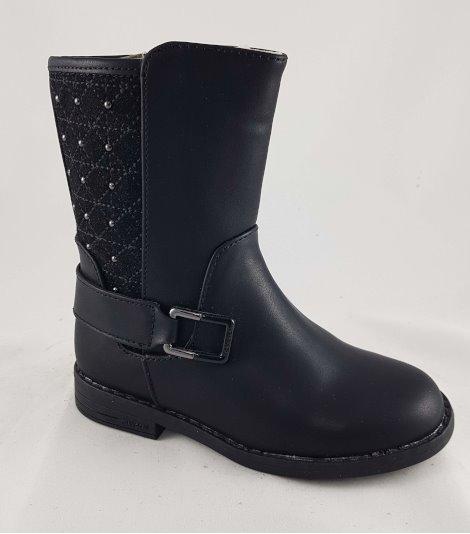 Bota niña cadete-44153-negro